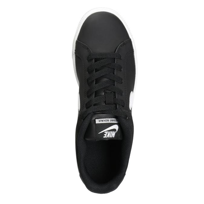 Ladies' White Sneakers nike, black , 501-6164 - 15
