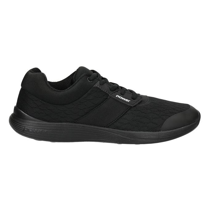 Ladies' Black Sneakers power, black , 509-6203 - 26