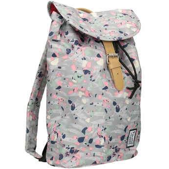 Backpack with Colourful Pattern, gray , 969-2080 - 13