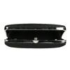 Ladies' solid clutch bata, black , 969-6660 - 15