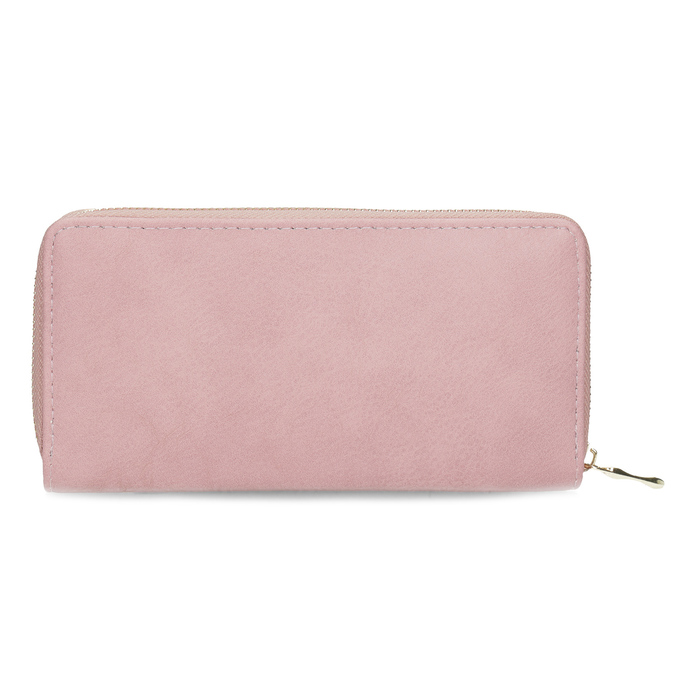 Pink ladies' wallet bata, pink , 941-0180 - 16