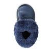 Girls' shoes with fur bubblegummer, blue , 121-9621 - 19