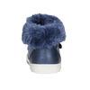 Girls' shoes with fur bubblegummer, blue , 121-9621 - 17