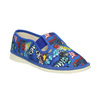 Children's blue slip-ons bata, blue , 379-9124 - 13