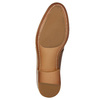 Leather dress shoes bata, brown , 826-3680 - 19