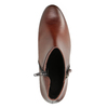 Leather Low-Heeled Ankle Boots gabor, brown , 616-3112 - 15