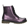 Metallic Children's Boots mini-b, violet , 321-9612 - 15