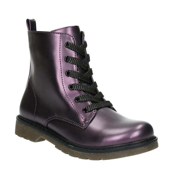 Metallic Children's Boots mini-b, blue , 321-9612 - 13