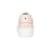 Ladies' leather sneakers bata, pink , 526-5641 - 16