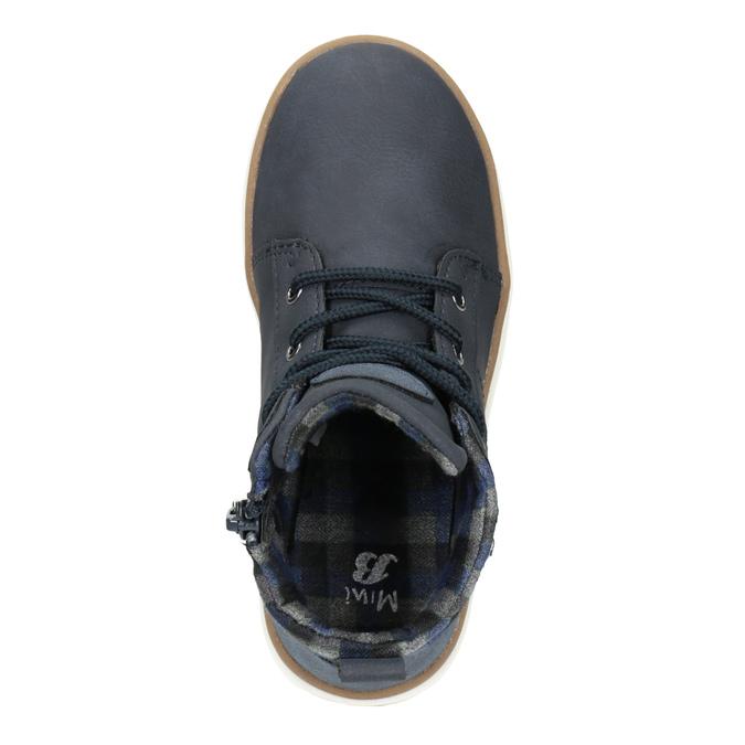 Children's High Top Shoes mini-b, blue , 291-9172 - 15