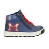 Kids' leather ankle boots bubblegummer, blue , 114-9603 - 26