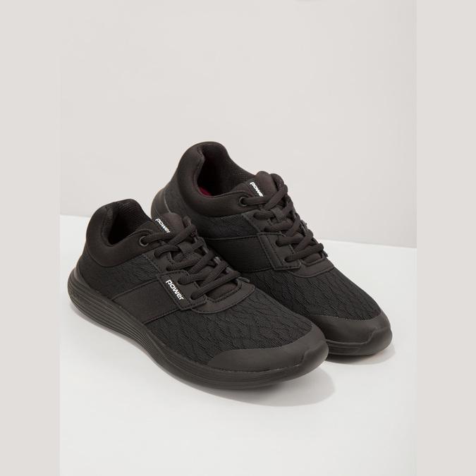 Ladies' Black Sneakers power, black , 509-6203 - 19