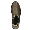 Ladies' leather Chelsea boots bata, brown , 596-7680 - 15