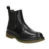 Ladies' leather Chelsea boots bata, black , 594-6680 - 13