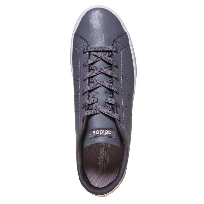Ladies' casual sneakers adidas, gray , 501-2106 - 19