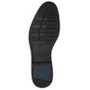 Men's blue leather shoes bata, blue , 826-9914 - 19