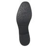 Ladies' textured  leather Chelsea boots bata, black , 596-6678 - 19