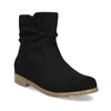 Ladies' ankle boots bata, black , 599-6614 - 13