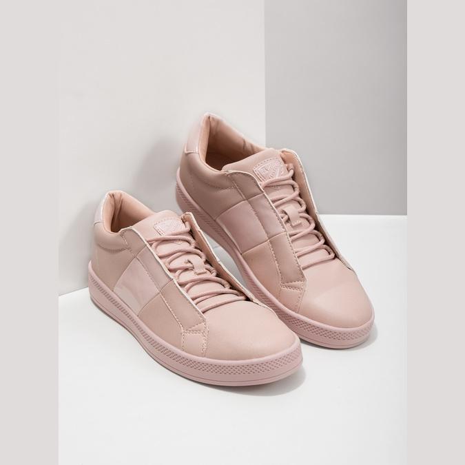 Ladies' Pink Sneakers, red , 501-5171 - 18