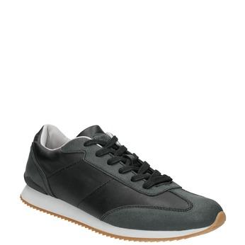 Men's Casual Sneakers, black , 801-6180 - 13