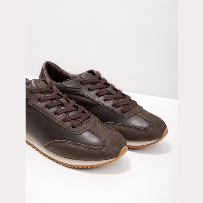 Men's Casual Sneakers, brown , 801-3180 - 14