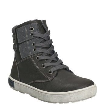 Children's Ankle Boots mini-b, gray , 494-2655 - 13