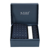 Men's Tie and Handkerchief Set bata, blue , 999-9294 - 13