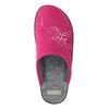 Ladies' Pink Slippers bata, pink , 579-5621 - 26
