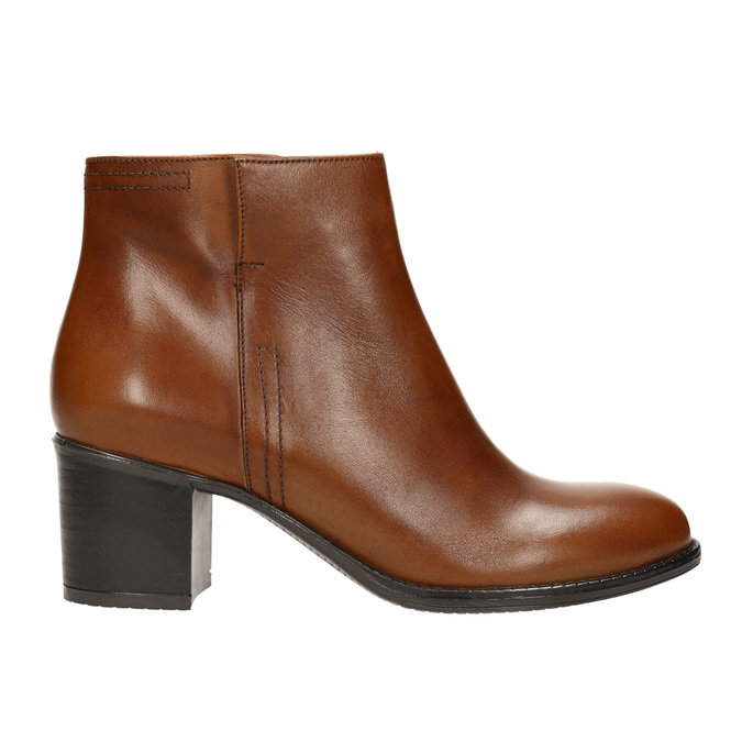 Ankle Boots with Sturdy Heel bata, brown , 694-4642 - 15