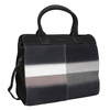 Leather Handbag with Ombré Effect fredsbruder, black , 966-6056 - 13