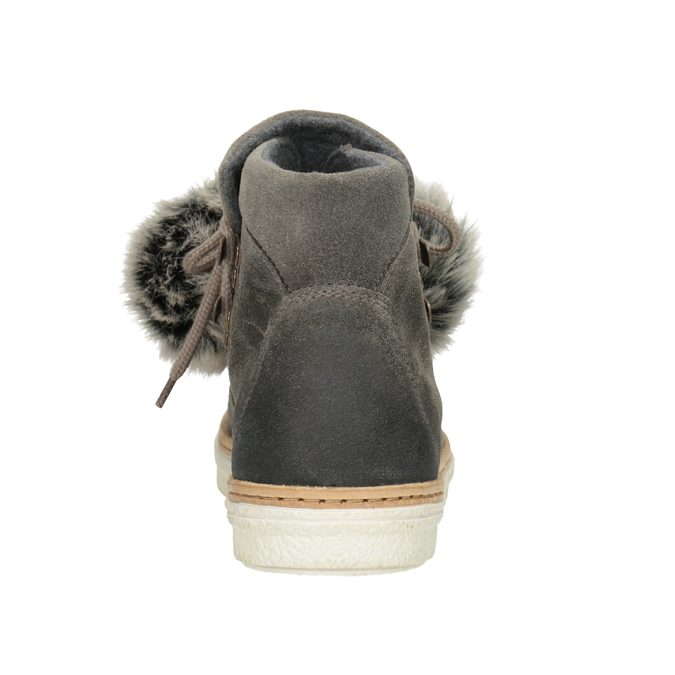 Ladies' Lace-Up Winter Boots weinbrenner, gray , 596-2674 - 16