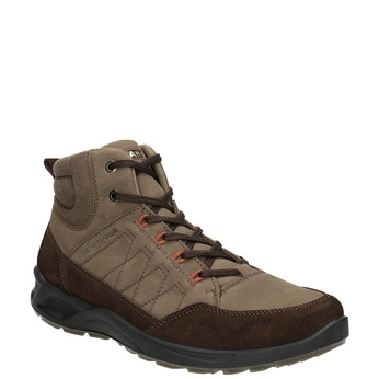 Men's Leather Boots weinbrenner, brown , 846-4647 - 13