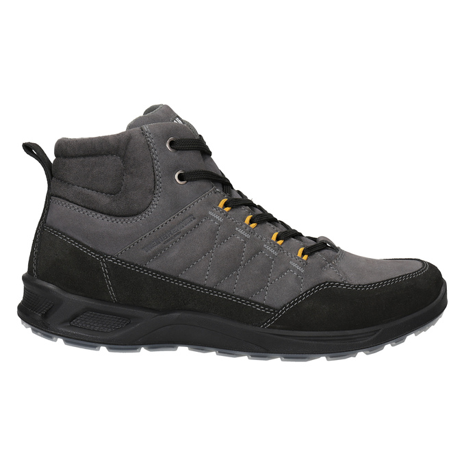 Men's Leather Outdoor Boots weinbrenner, gray , 846-2647 - 26