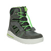 Children's Leather Winter Boots weinbrenner-junior, gray , 493-2613 - 13
