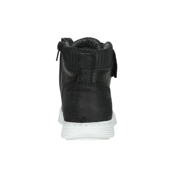 Boys' High Top Shoes, black , 494-6024 - 16