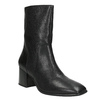 Ladies' Leather Low-Heeled High Boots vagabond, black , 716-6039 - 13