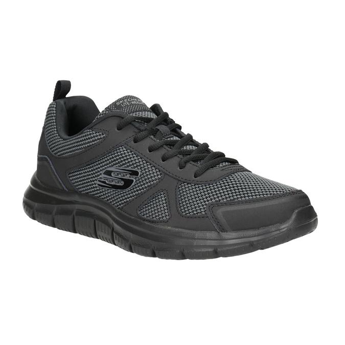 Men's Black Sneakers skechers, black , 809-6331 - 13