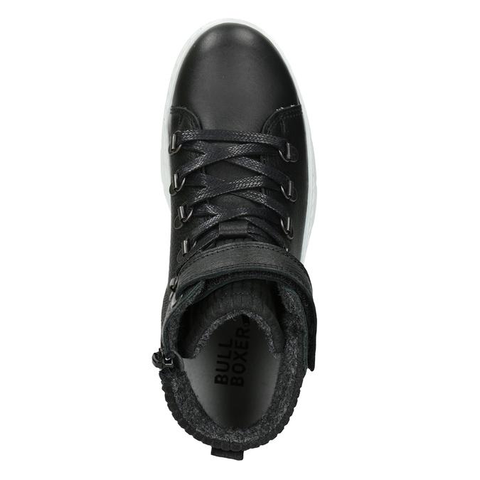 Boys' High Top Shoes, black , 494-6024 - 15