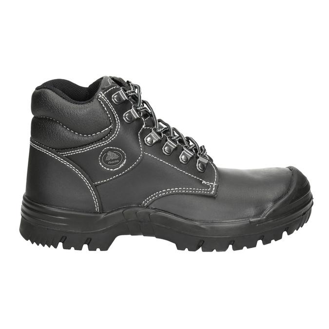 Men's Stockholm 2 KN S3 work shoes bata-industrials, black , 844-6645 - 26