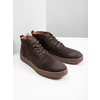 Men's leather ankle boots bata, brown , 846-4653 - 18