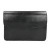 Black Leather Crossbody Bag vagabond, black , 964-6086 - 26
