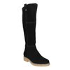 Ladies' Leather High Boots bata, black , 593-6606 - 13