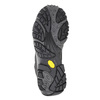 Men's Outdoor-Style Leather Shoes merrell, black , 806-6561 - 17