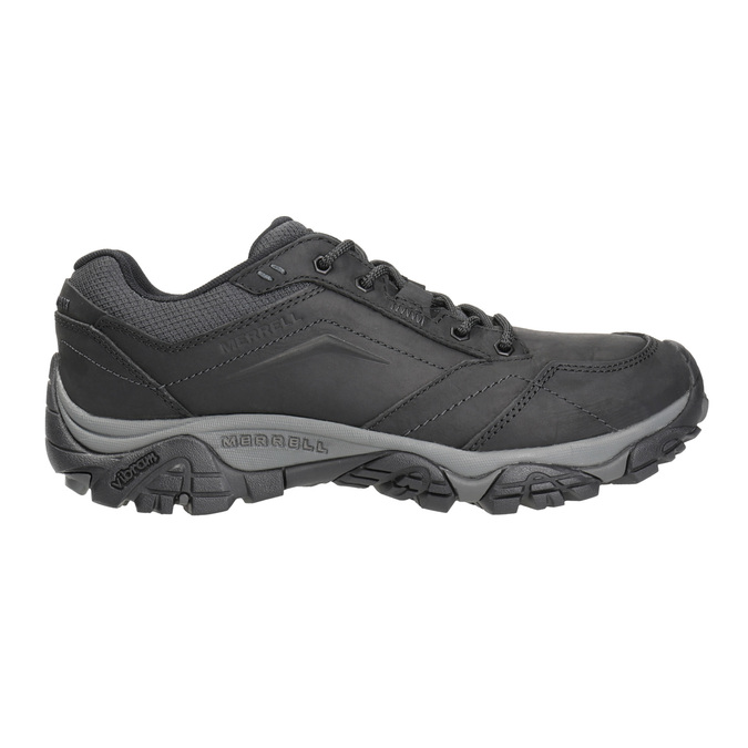Men's Outdoor-Style Leather Shoes merrell, black , 806-6561 - 26
