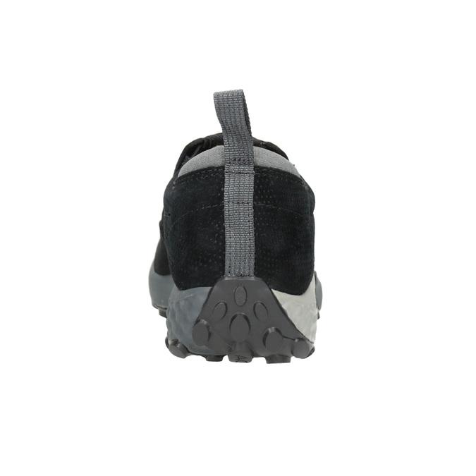 Men's Leather Slip-Ons merrell, black , 803-6580 - 16