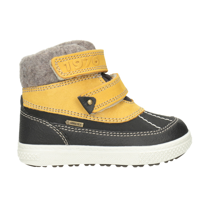 Children's Leather Winter Boots primigi, yellow , 196-8006 - 26