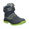 Children's winter boots with Velcro mini-b, blue , 491-9654 - 13