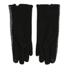 Ladies' Gloves with Bow bata, black , 909-6615 - 16