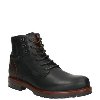 Men's Ankle Boots bata, black , 896-6665 - 13