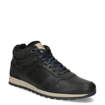 Men's Winter Sneakers bata, black , 846-6646 - 13